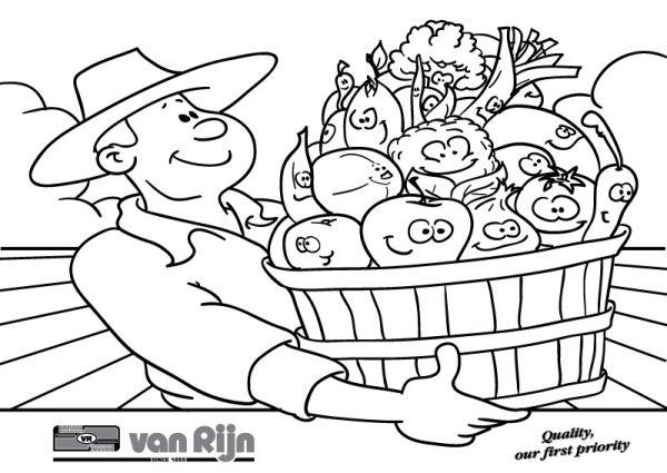 Kleurplaten Fruit En Groenten.Groente En Fruit Handel Ryk Productions